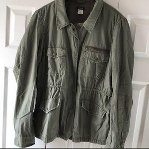 J. Crew military jacket!